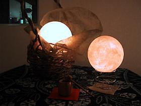 手漉き和紙照明